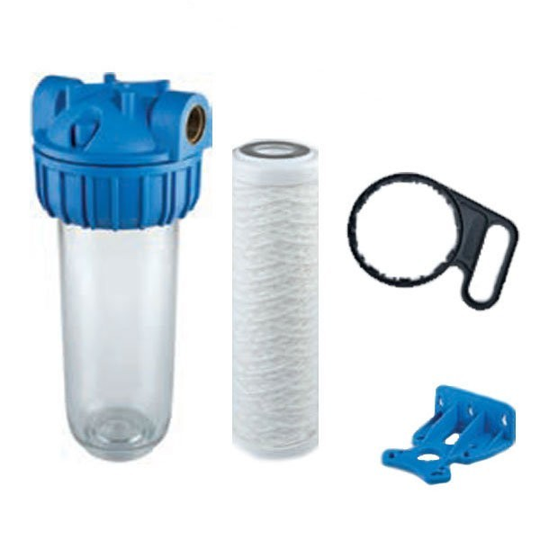 """Complete 10"""" Water Filter Kit - Ready To Go"""