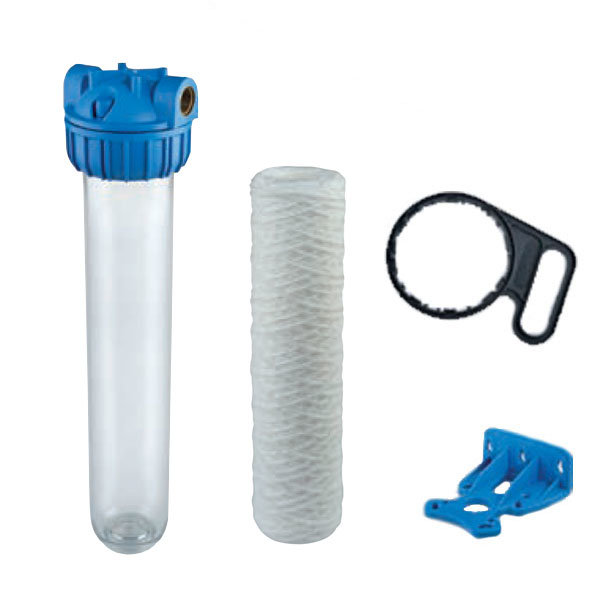 "Complete 20"" Water Filter Kit - Ready To Go"
