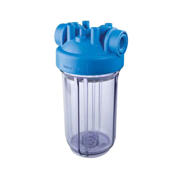 """DP BIG CLEAR 10"""" Water Filter Housing Only - 1'1/2"""" Ports"""