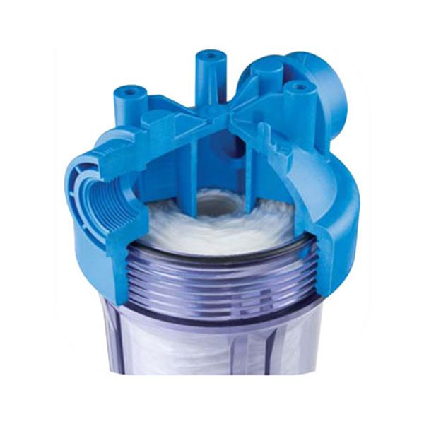 DP BIG CLEAR 10″ Water Filter Housing Only – 1'1/2″ Ports 2