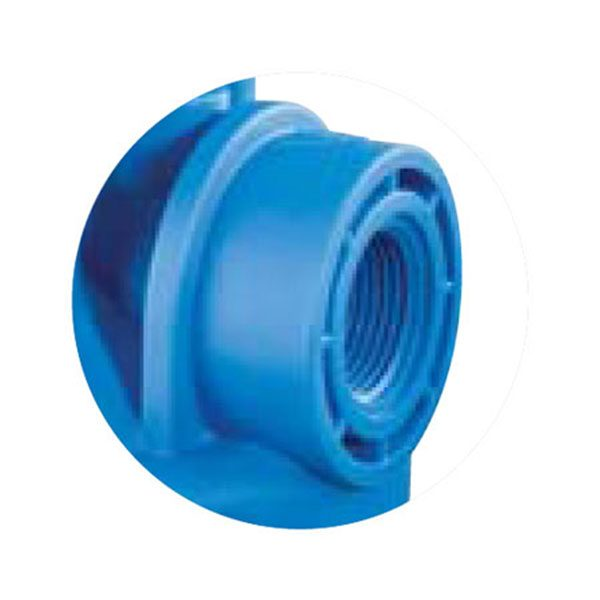 DP BIG CLEAR 10″ Water Filter Housing Only – 1'1/2″ Ports 3