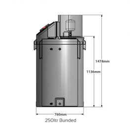 Powertank BUNDED - Fixed Speed Water Pressure Booster