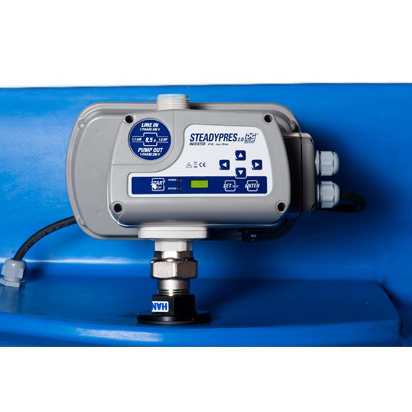 Powertank COMPACT Combi – Variable Speed Water Pressure Booster with 125ltr Slave Tank 4