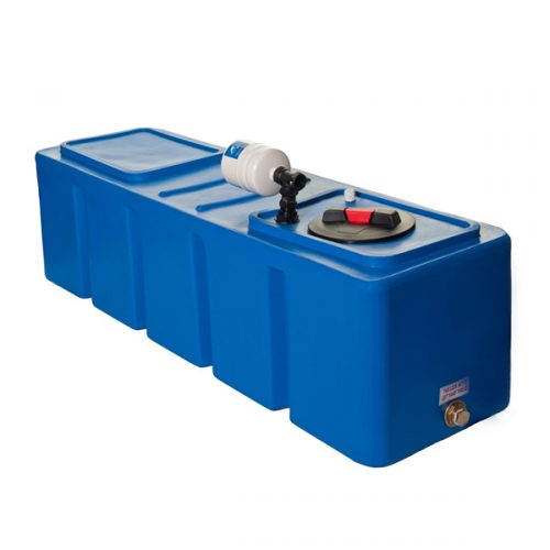 Powertank RECTANGULAR 270ltr - Fixed Speed Water Pressure Booster