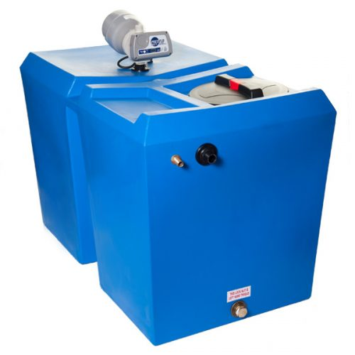 Powertank RECTANGULAR 300 & 500ltr - Fixed Speed Water Pressure Booster