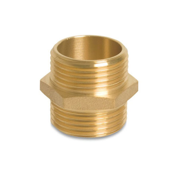 Brass Nipple - Male BSP x Male BSP