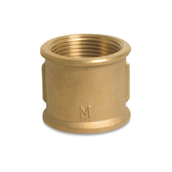Brass Socket – Female BSP x Female BSP 1