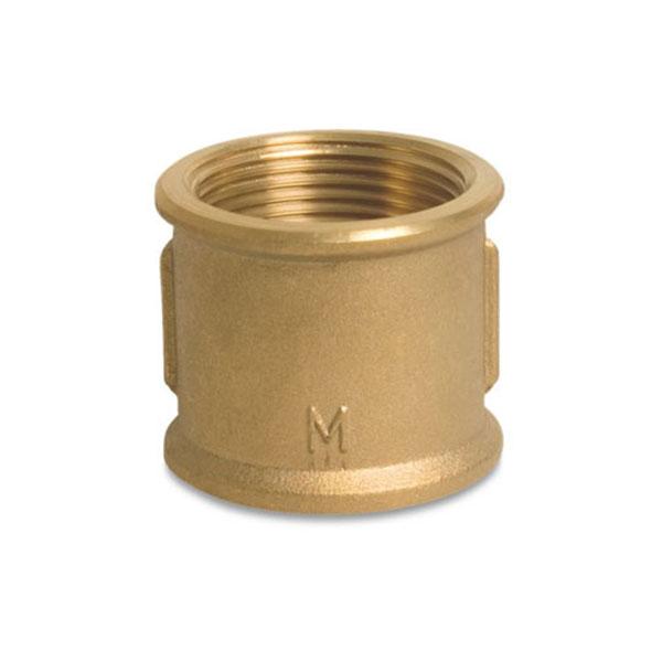 Brass Socket - Female BSP x Female BSP