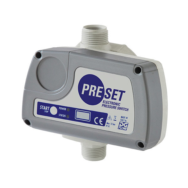 PRESET Electronic Pressure Switch
