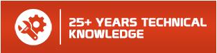 25 years experience img